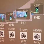 Samsung แสดงหน้าจอ 4.99 นิ้ว FHD S-AMOLED คาดนำมาใช้กับ Galaxy S4 !