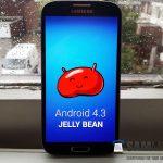 หลุด Firmware android 4.3 jellybean ของ Samsung galaxy S4 (i9505)