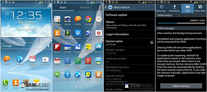 4.3 for note2