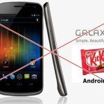เสียใจด้วย Samsung Galaxy Nexus คุณไม่ได้ไปต่อ..