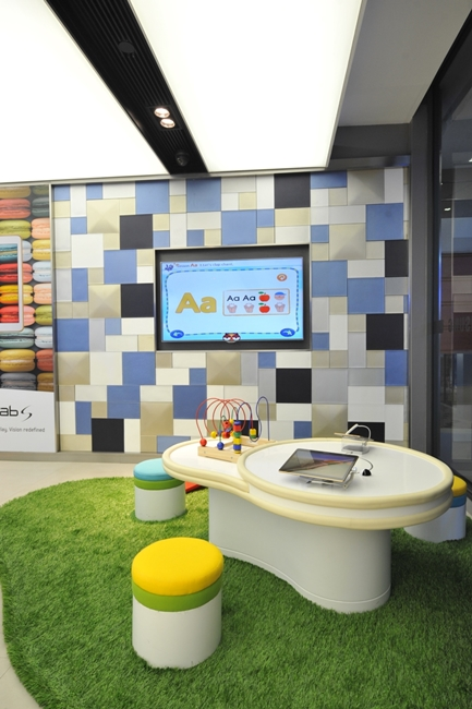 บริเวณ Kids Zone  Samsung Experience Store ชั้น 1
