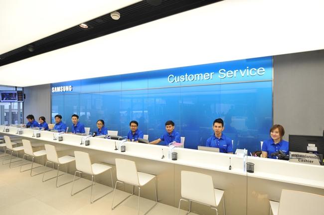 Samsung Experience Store ชั้น 3 บริการลูกค้า ซัมซุง เซอร์วิส