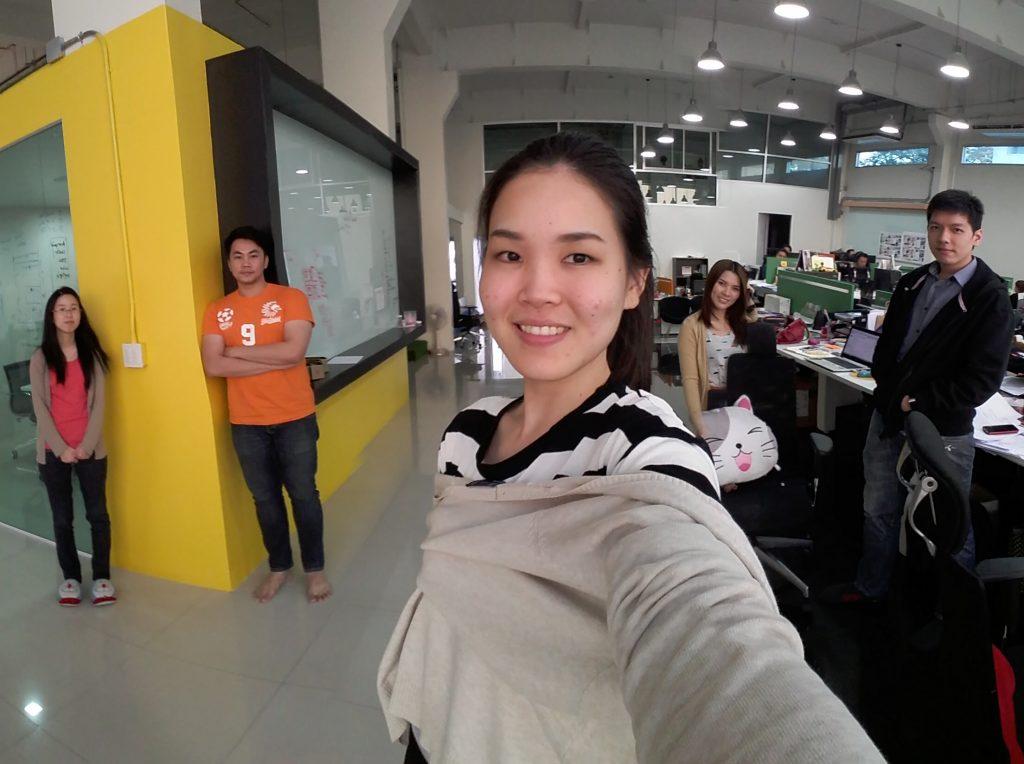 Wide Selfie บน Samsung Galaxy A5