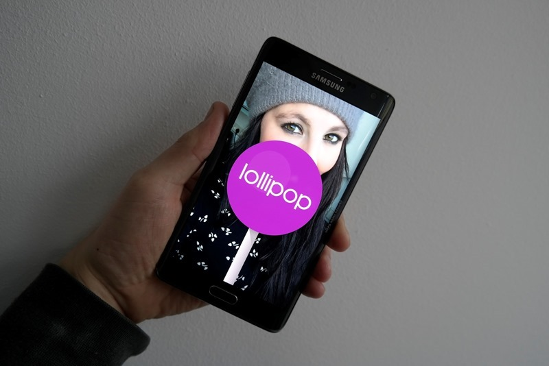 Samsung Galaxy Note Edge Lollipop