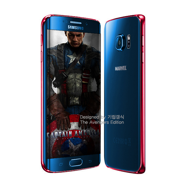 S6 edge Captain America