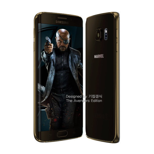 S6 edge Nick Fury