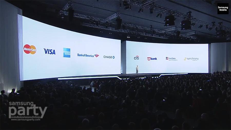 Samsung Pay Bank partners