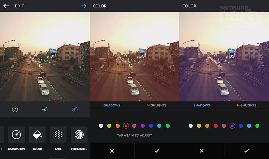 Instagram-Color-Samsung-Party