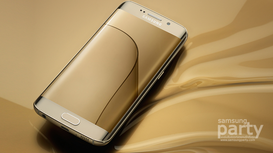S6 Edge Gold Platinum Samsung Galaxy