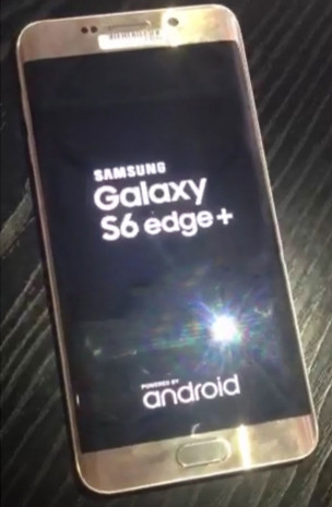 Galaxy S6 edge Plus boot screen