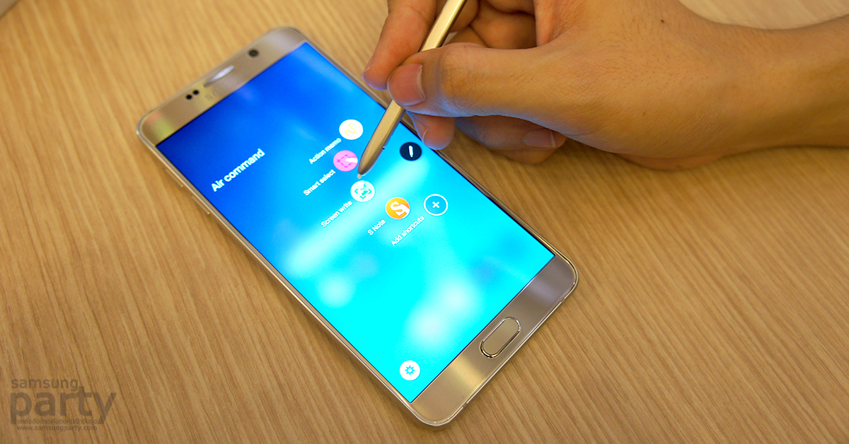 Samsung Galaxy Note 5 S-Pen Air Command