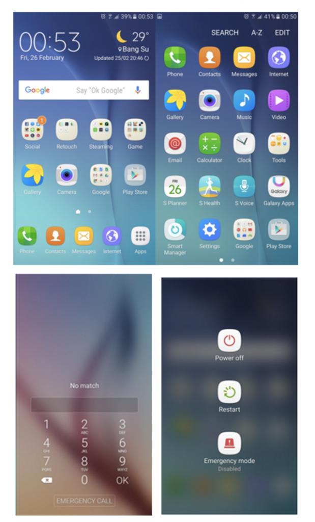 TouchWiz UI แบบใหม่