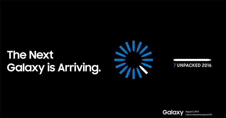 Samsung Galaxy Note 7 Unpacked 2016