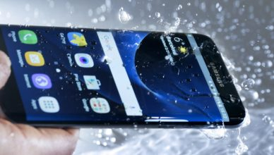 Samsung Optically Clear Superhydrophobic film