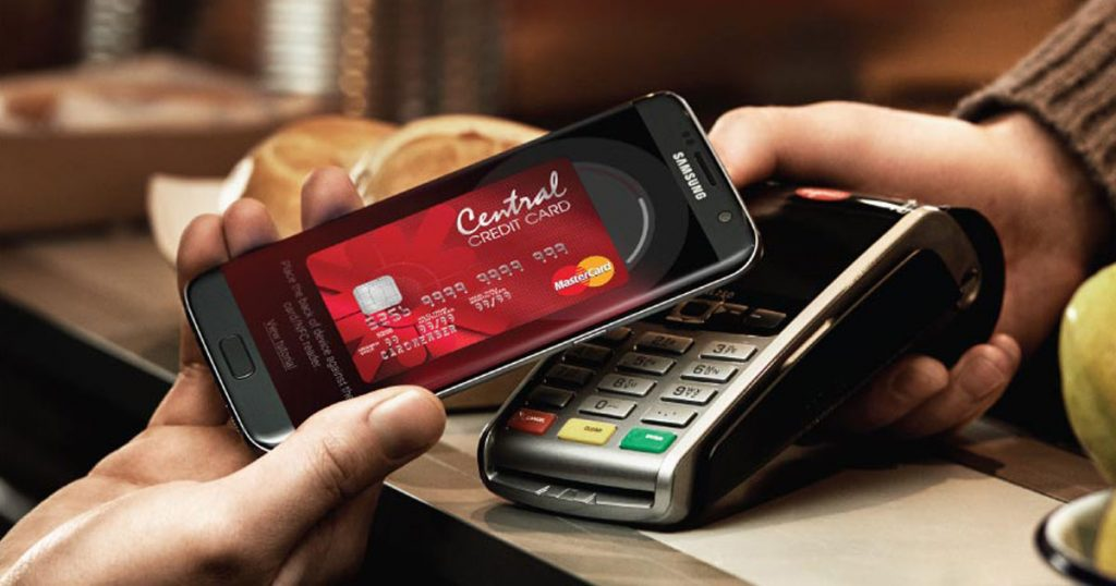 Samsung Pay Central Credit card