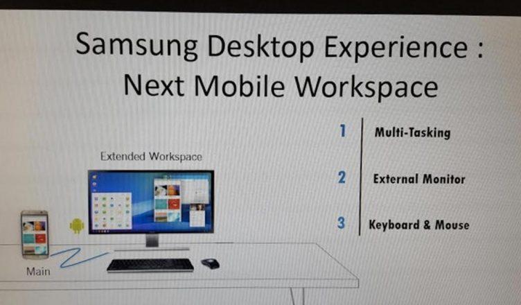 Samsung Desktop Experience