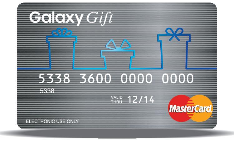 Galaxy Gift card