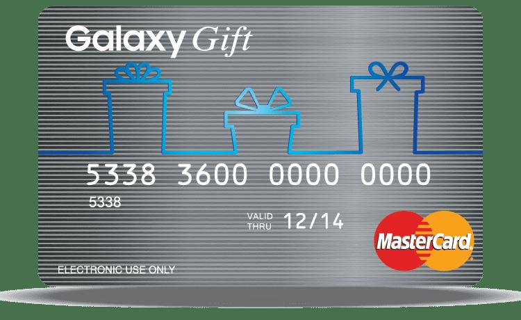 Gift Virtual Prepaid MasterCard