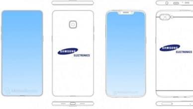 Samsung Galaxy Design 2018 Leak - Head