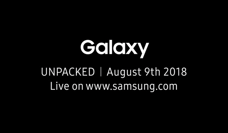 Samsung Galaxy Unpacked 2018 - Galaxy Note 9