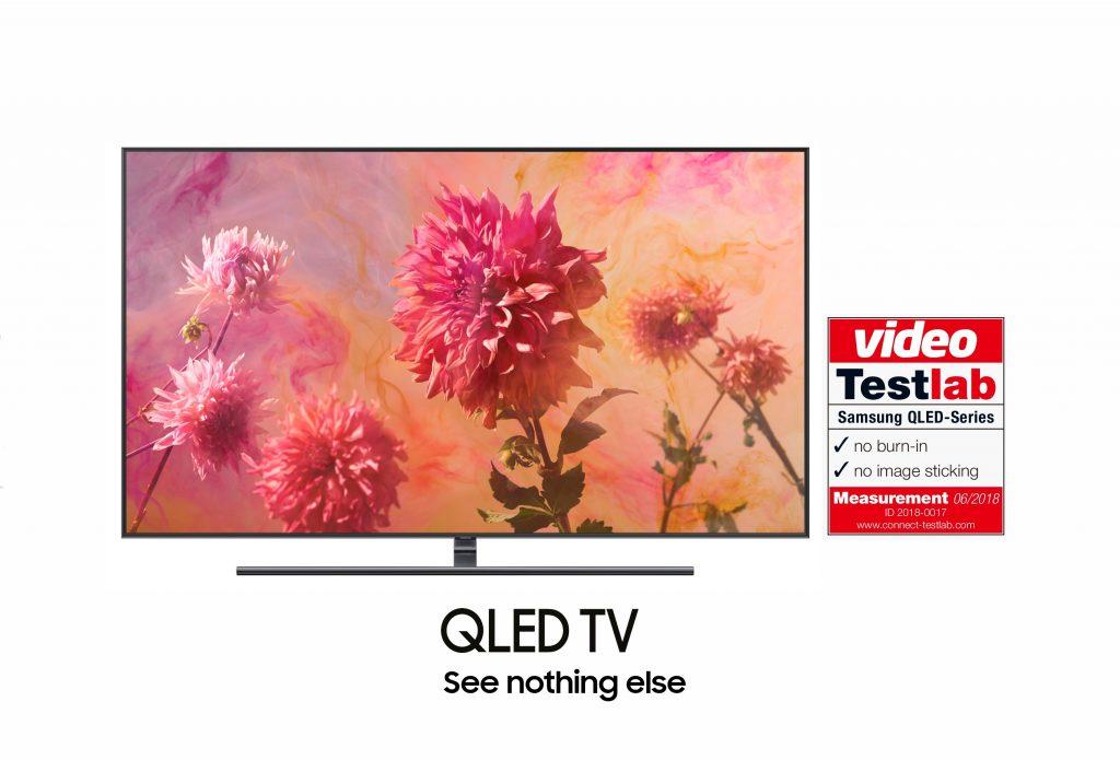 Samsung QLED TV 2018 Burn in Test