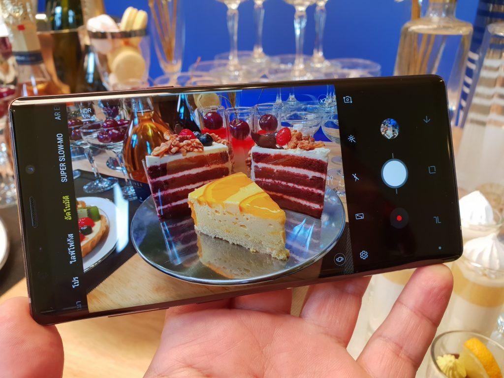 Samsung Galaxy Note 9 Camera Mode