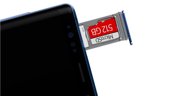Samsung Galaxy Note 9 Storage Memory