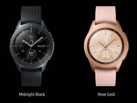 Samsung Galaxy Watch - Colors
