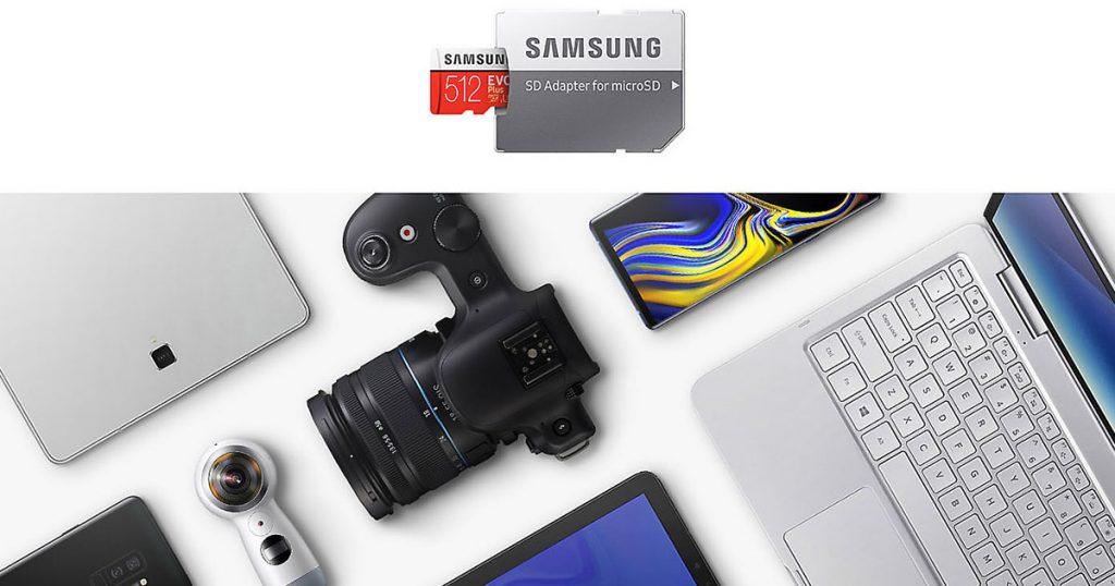 ซัมซุง MicroSD Card 512 GB