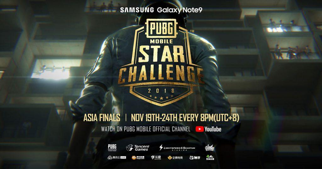ซัมซุงชวนลุ้นการแข่งขัน PUBG Mobile Star Challenge รอบ Asia Final
