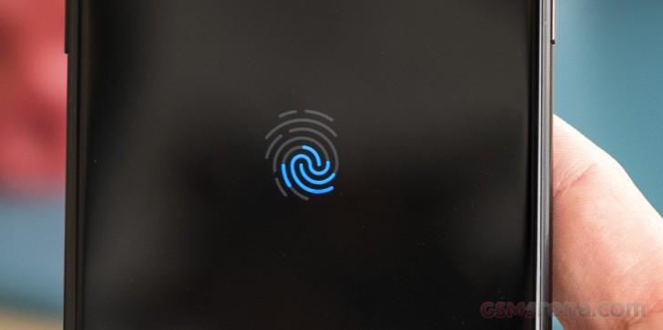 Samsung Galaxy S10 with Qualcomm fingerprint