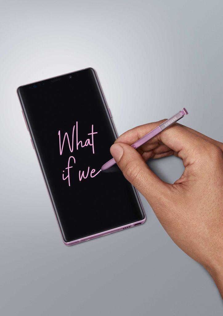 Samsung Galaxy Note 9Lavender Purple