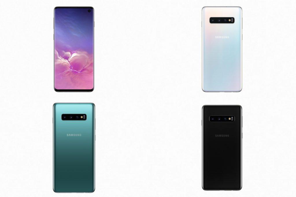 Samsung Galaxy S10 Color