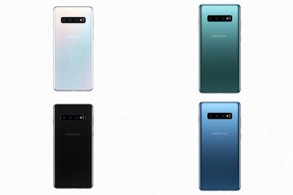 Samsung Galaxy S10 Plus Color