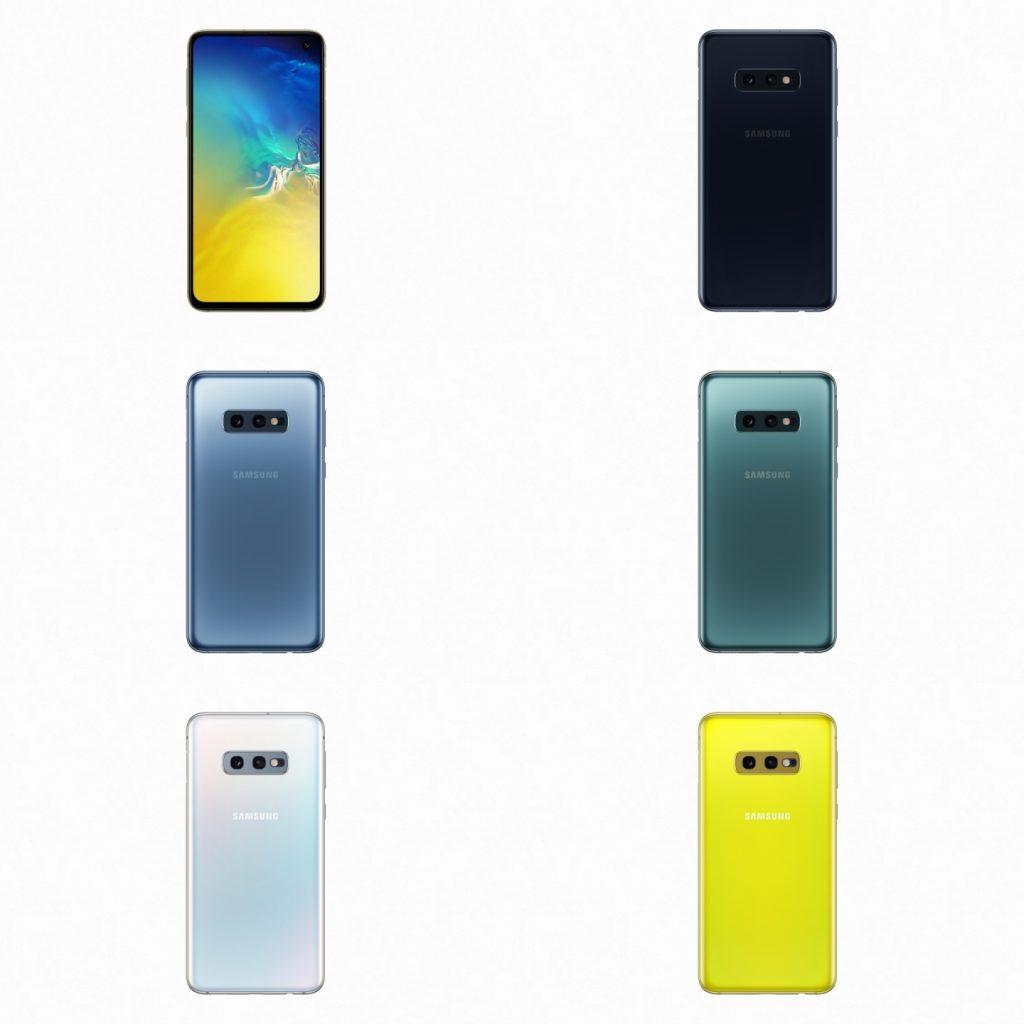 Samsung Galaxy S10e Color