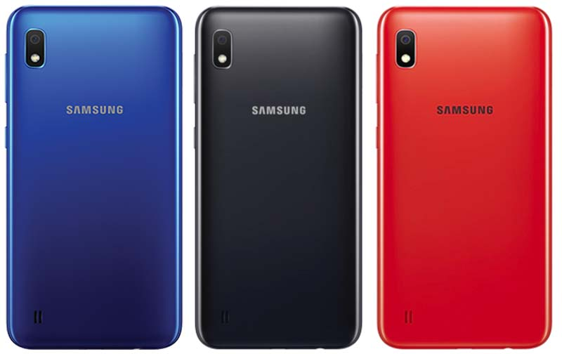 Samsung Galaxy A10 Color