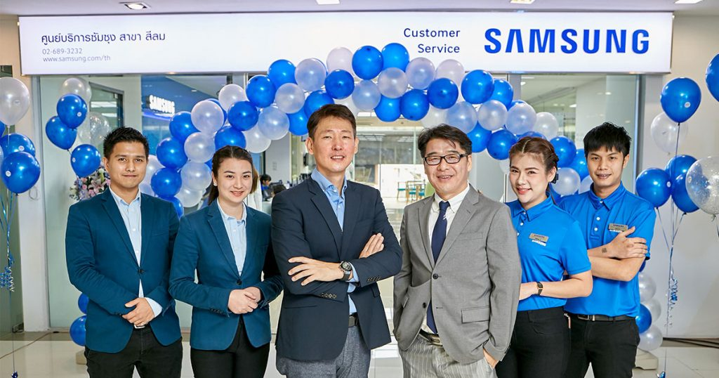 New Samsung Customer Service Centre at SILOM